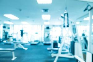 Abstract blur fitness and gym photo
