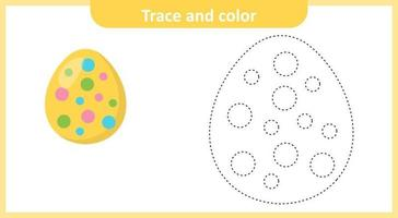 Trace and Color Easter Egg