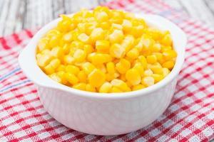 Sweet corn bowl photo