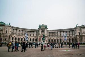 Vienna, Austria 2015- The Hofburg Palace photo
