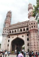 Hyderabad, India 2019- Charminar mosque and monument