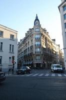Paris, France 2015- Parisian buildings during the day photo