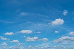 Summer blue sky and white cloud abstract background photo
