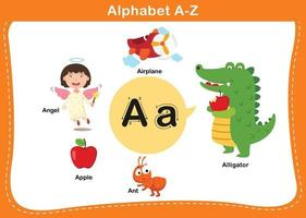letra del alfabeto una ilustración vectorial vector