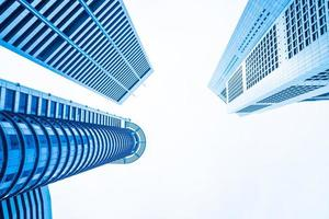 Skyscraper office buildings photo
