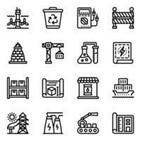 comercial e industrias vector