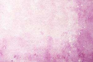 Pink watercolor painting background photo