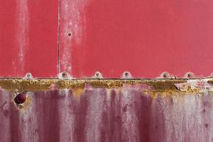 metal rojo oxidado foto
