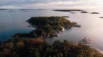 A coastal view photo