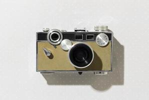 Vintage photo camera composition