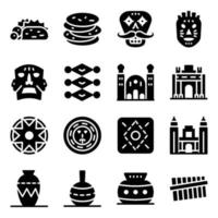 Mexican Food and Culture vector