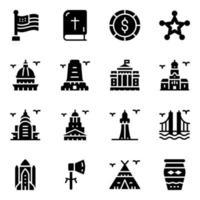 United States Landmarks vector