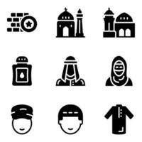Middle East Elements vector