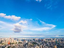 cityscpe de tokio, japón foto