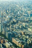 Cityscape of Taipei city, Taiwan photo
