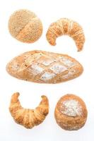 French butter croissant bread and bakery photo