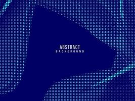 Abstract geometric elegant blue halftone design background vector
