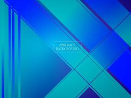 Fondo de patrón moderno azul degradado geométrico abstracto vector