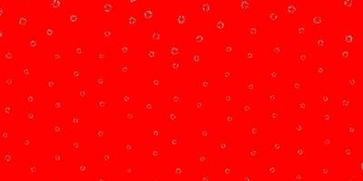 Light red vector texture with disks.