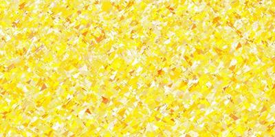 Light Yellow vector pattern with polygonal style.
