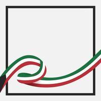 celebración del día nacional de kuwait vector