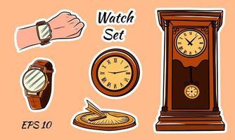 Set of vector clocks