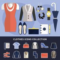 Clothes Icon Collection vector