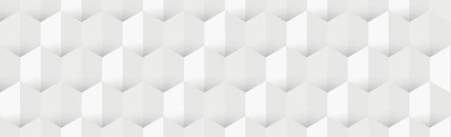 Abstract pattern background texture, many identical white hexagons - Vector