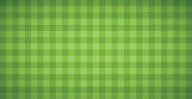 Realistic checkered football background covering grass - Vector