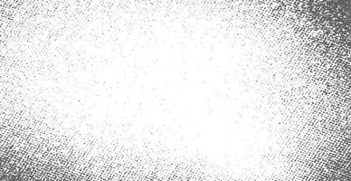 Black and white grunge background, realistic texture - Vector