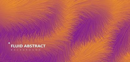 Fashion yellow purple gradient fur texture abstract background vector