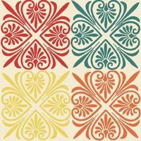 vintage pattern perfect for background or wallpaper vector