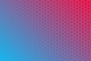 ilustración vectorial de fondo degradado en colores azul, negro y rojo vector