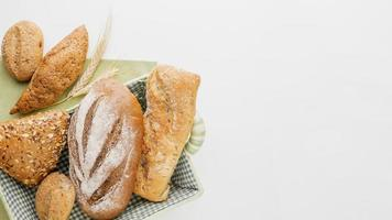 canasta de pan diferente foto