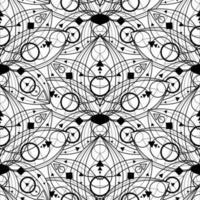 Seamless Pattern. Modern Stylish Abstract Texture