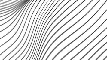 agitant des lignes noires fond minimal video