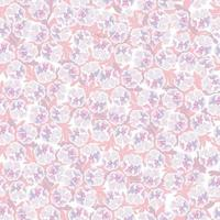 Floral seamless pattern. Flower pansy background. Floral seamless texture with flowers. Flourish tiled wallpaper vector