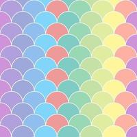 Seamless pattern with scales 01 vector