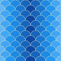 Seamless pattern with scales 07 vector