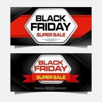 super venta viernes negro vector