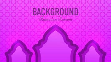 Abstract beautiful ramadan background vector