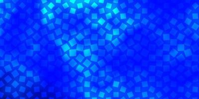 Dark BLUE vector background in polygonal style.