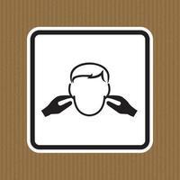 Signo de símbolo de ruido aislado sobre fondo blanco, ilustración vectorial eps.10 vector