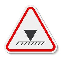 Limit Overhead Height Symbol Sign Isolate On White Background,Vector Illustration EPS.10 vector