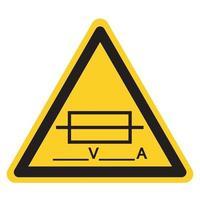 Fuse Writable Symbol Sign, Vector Illustration, Isolate On White Background Label .EPS10