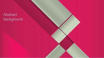 Fondo abstracto con shaes rojo claro y gris. vector