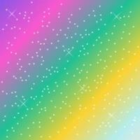 rainbow pastel background vector