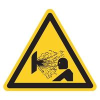 Explosión de liberación de signo de símbolo de presión, ilustración vectorial, aislar en la etiqueta de fondo blanco .eps10 vector