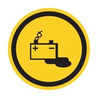 Battery Charging Symbol Sign Isolate On White Background,Vector Illustration EPS.10 vector