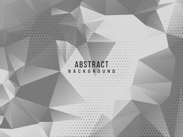 Abstract grey and white geometric stylish modern background design vector